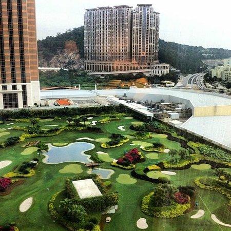 The Venetian Macao Resort Hotel: La vista desde mi habitación