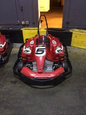 Pole Position Raceway: One of the karts