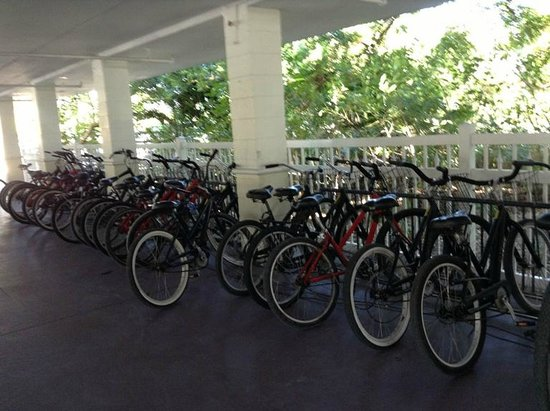 Fairfield Inn & Suites Key West: I think you can rent bikes - they are in the covered parking area