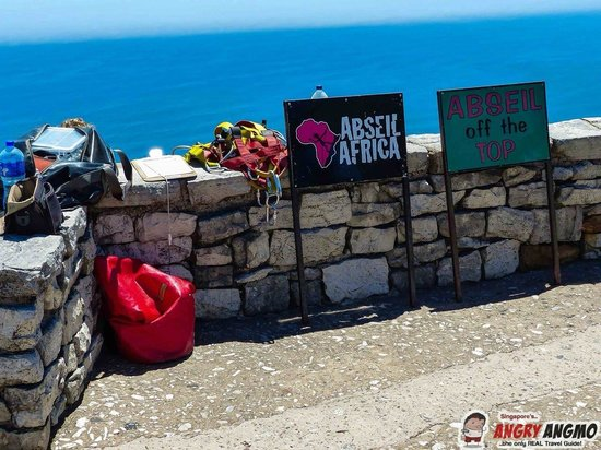 Abseil Africa: The station