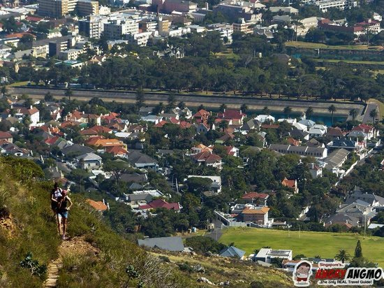 Abseil Africa: Hiking Up