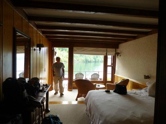 Puyuhuapi Lodge & Spa : Má de la habitación