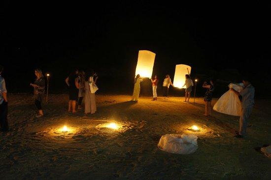 Kamalaya Koh Samui: Lighting of the lanterns - Friday Nights