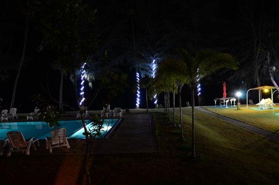Rimlay Villas: view from restaurant