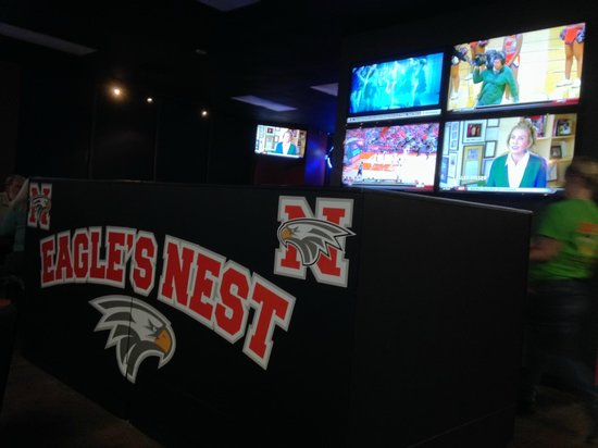 Bair's All American Sports Grill : The Eagle's Nest dining area
