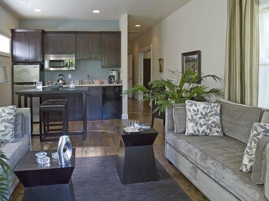 Elan Guest Suites and Art Gallery : Luna Vista Suite Kitchen