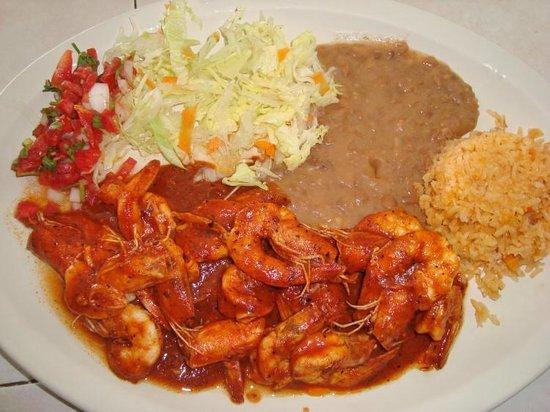 La Ranchera Mexican Food: Camarones a la diabla