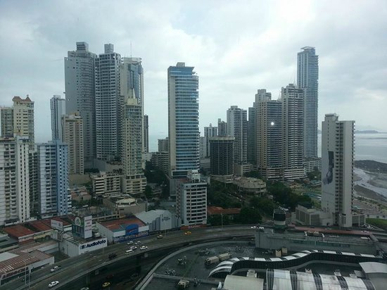 Radisson Decapolis Hotel Panama City: 22nd floor view