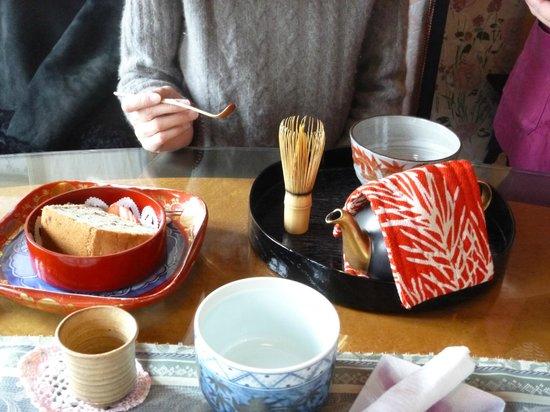 Sabo Kyuchayatei: お抹茶セット