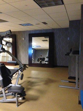 Moonrise Hotel : Inside fitness center
