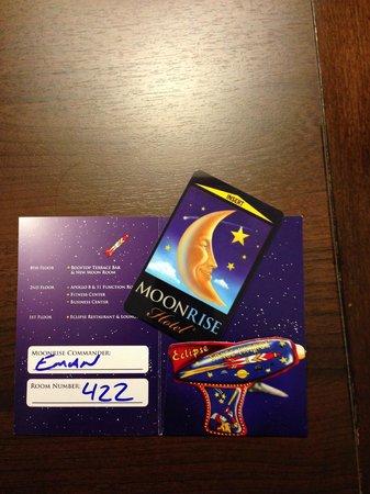 Moonrise Hotel: Fun room key