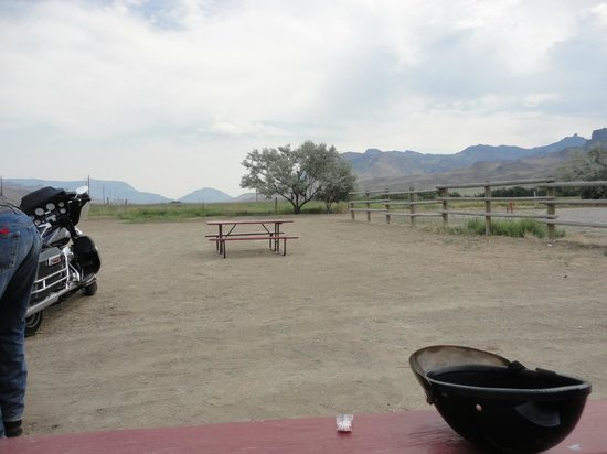 "Yellowstone Valley Inn: ""tenting area"""