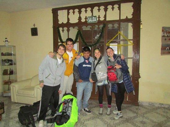 FamDreams Casa Hospedaje: RECIEN LLEGADOS!