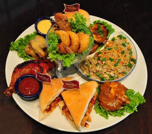 Hard Rock Cafe Penang: Prosperity Platter