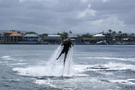 Jetpack Flyboard Adventures: You are in control.. mostly..