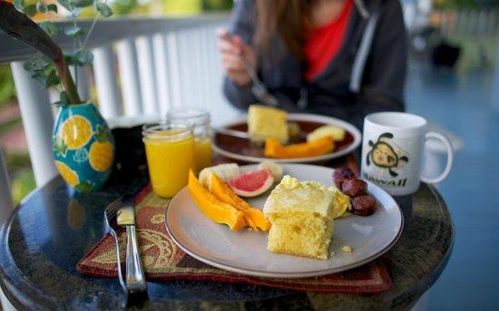 Ka'awa Loa Plantation: Breakfast