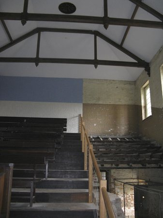The Tench (Penitentiary Chapel Historic Site) : In the semi-restored chapel