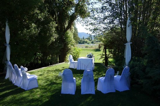 Tongariro Lodge: Our wedding setting