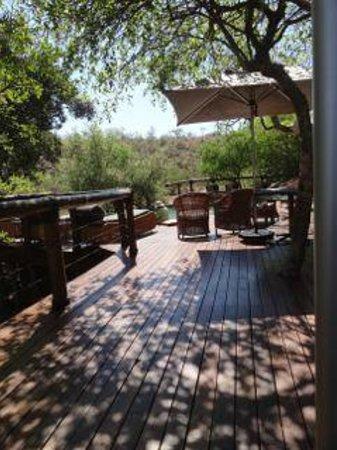 Tuningi Safari Lodge : Time for a drink