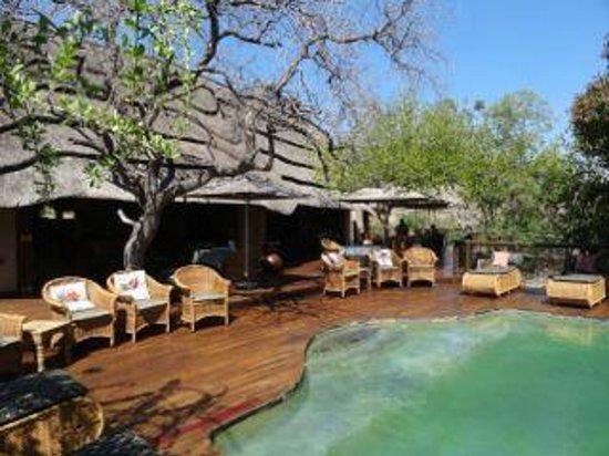 Tuningi Safari Lodge: The main eating area