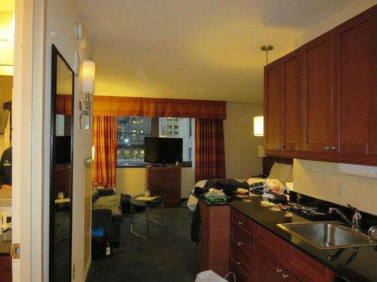 Residence Inn New York Manhattan/Times Square : nice large rooms