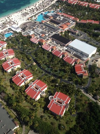 Paradisus Palma Real Golf & Spa Resort: helicopter view