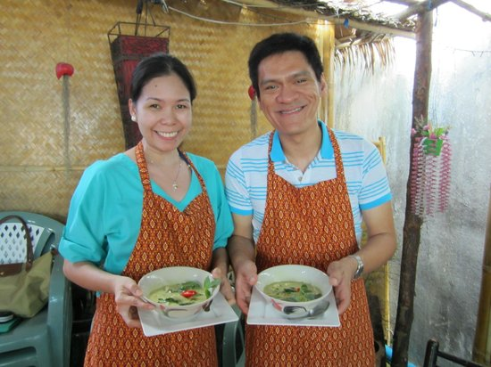 The Kitchen Restaurant Kata Beach & Thai Cooking Class: Check out the food we prepared...