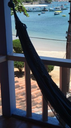 Pousada L'Escale: Hamaca,tranquilidad y hermosa vista...