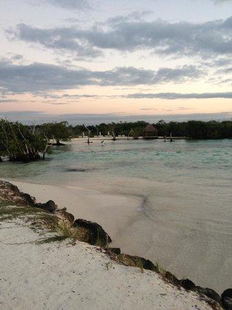 Hacienda Tres Rios : Lagoon