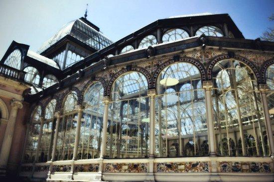 Palacio De Cristal: Хрустальный дворец
