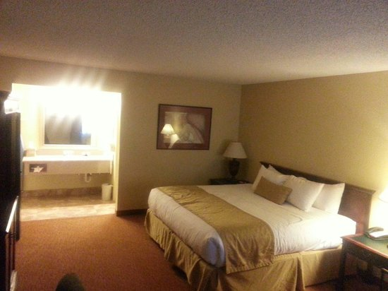 Best Western Pine Springs Inn: Our room, king size bed