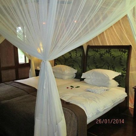 Arusha Coffee Lodge: Very comfortable bed