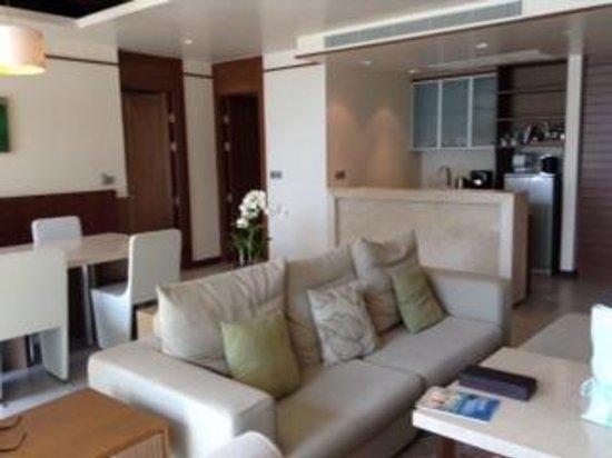 The Westin Siray Bay Resort & Spa Phuket : 2BED ROOM Villa リビング