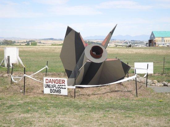 Omaka Aviation Heritage Centre: The Bomb