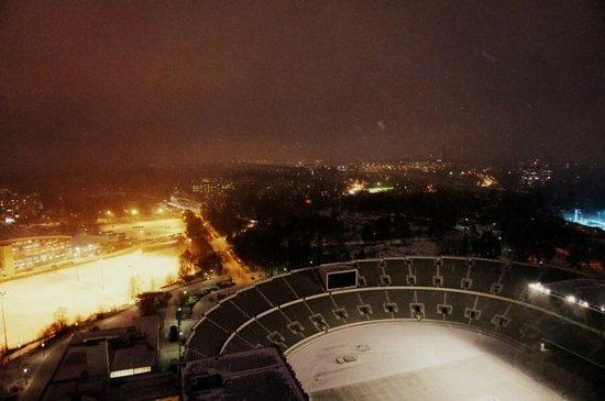 Olympic Stadium (Olympiastadion): Вид на город