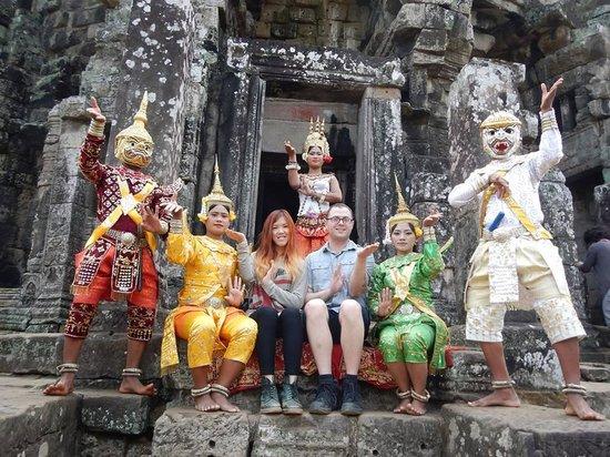 Angkor Wat Tour Guides: Photo Op1
