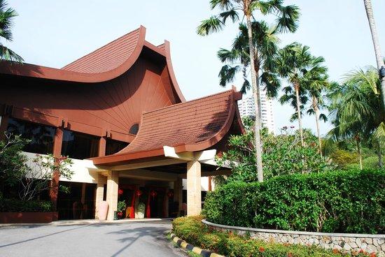 Feringgi Grill : Hotel Entrance