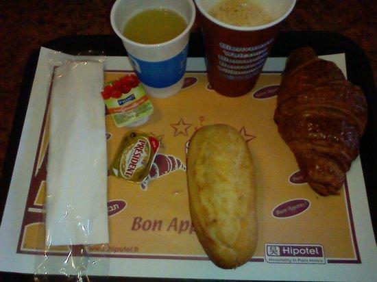 Hipotel Paris Nation : 朝食