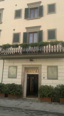 Hotel Giardino: Main entrance