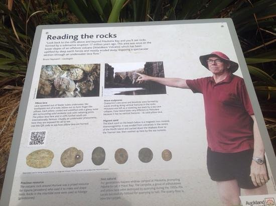 Milestone Tours: reading the rocks