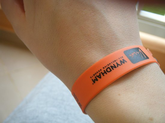Viva Wyndham Dominicus Palace: viva bracelet