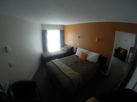 RotoVegas Motel of Rotorua: Bedroom