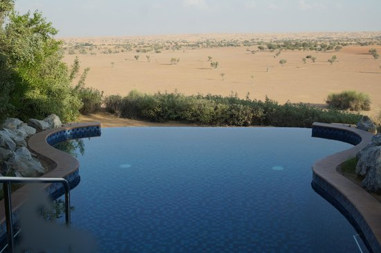 Al Maha, A Luxury Collection Desert Resort & Spa: 客房的自有泳池