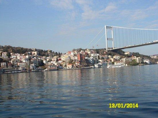 Bosphorus Strait: Босфор тур.Вид с палубы.