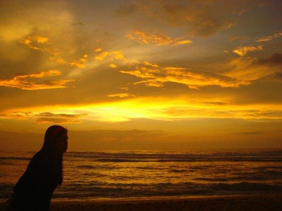 Patar Beach: sunset
