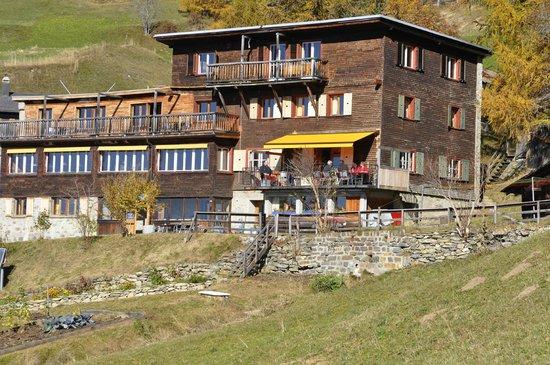 Berghotel Sternahaus: Das Sternahaus im Sommer