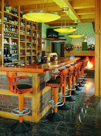 Anna Amalia Restaurant mit Seeterrasse: kl. Kaminzimmer