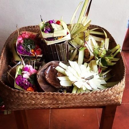 Puri Clinton Home Stay: beautiful basket