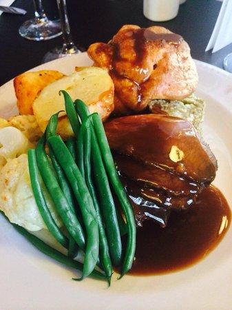 Rhubarb Bar & Brasserie: Sunday lunch....