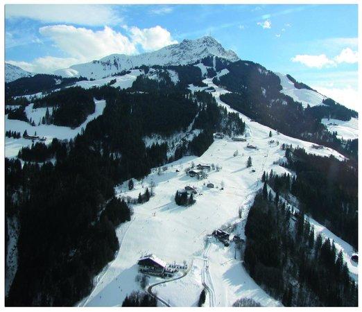 Aktivhotel Crystal: Skigebiet Kitzbuheler Alpen / Harschbichel